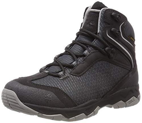 Jack Wolfskin Rock Hunter Texapore Mid W Wasserdicht, Chaussures de Randonnée Hautes Femme, (Phantom 6350), 40.5 EU