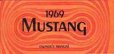 1969 Ford Mustang Owner's Manual Reprint