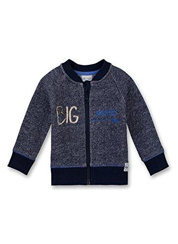 Sanetta Sanetta Baby-Jungen 114090 Sweatshirt, Blau (Deep Blue 5993), 68