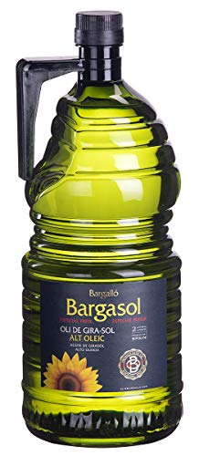 Garrafa 2l Aceite de Girasol Bargasol 100% Alto Oleico Olis Bargalló ideal para freir
