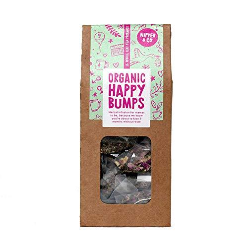 Nipper & Co   Organic Pregnancy Tea   100% Organic Caffeine Free Blend   Pack of 1, 16 Biodegradable Tea Bags