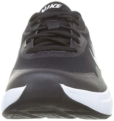Nike Wearallday, Zapatillas Hombre, Negro (Black/White), 41 EU