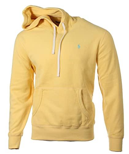 Ralph Lauren Sudadera con capucha para hombre., amarillo, L