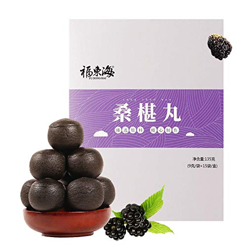 FudongHai Mulberry Pill Female Health and Beauty Pills 135g/box by Guangdong Fengchun Pharmaceutical CoLtd