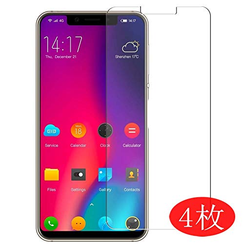 【4 Pack】 Synvy Screen Protector for Maxku ELEPHONE A4 Pro/ELEPHONE A4 0.14mm TPU Flexible HD Clear Case-Friendly Film Protective Protectors [Not Tempered Glass] New Version