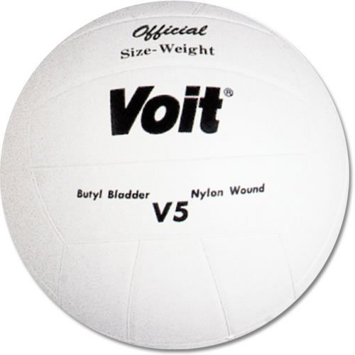 Voit V5 Rubber Cover Volleyball by Voit