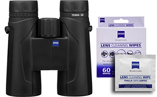 Zeiss Terra 10x42 ED 524206 Binoculars w/Free 60 ct. Zeiss Lens Wipes