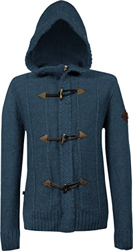 Musterbrand Assassin's Creed Jacke Herren Royal Hoodie/Gaming Clothes Blau 3XL