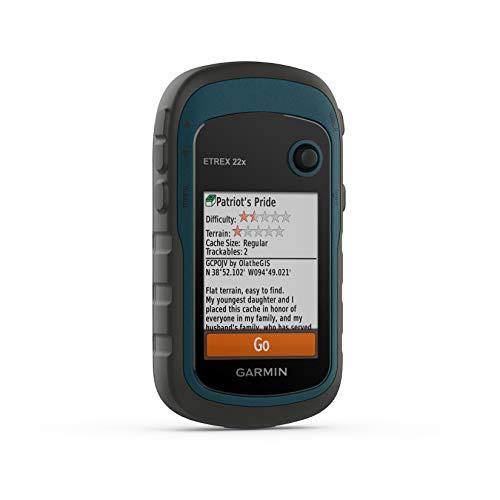 """Garmin ETREX 22x GPS de Mano con Pantalla Color de 2.2"""" y Mapa TopoActive preinstalado"""