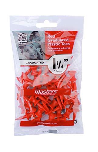 Tees de Golf Plastico Marca Masters