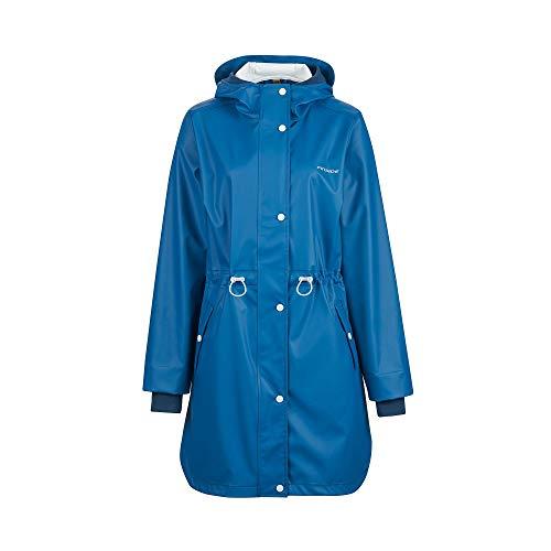 Finside W Koivunen Blau, Damen Regenjacke, Größe 36 - Farbe Denim