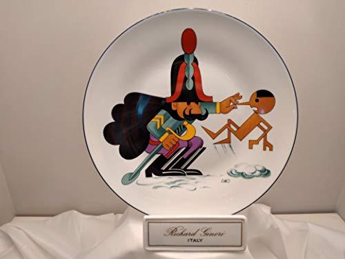 RICHARD GINORI Piatto da Collezione cm 26 Forma Europa Centenario di Pinocchio