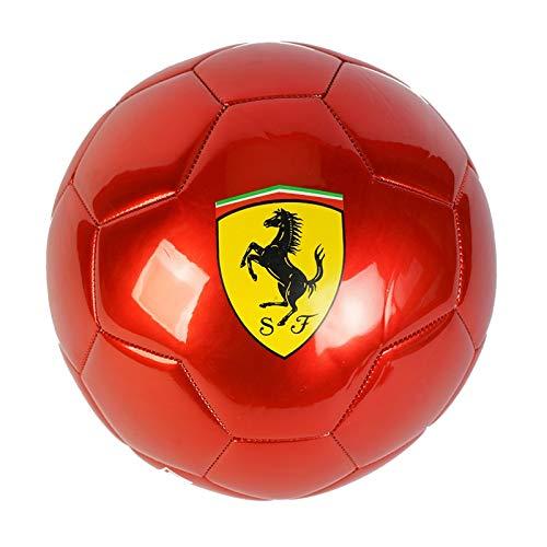 Ferrari - Balón de fútbol (talla 5), color rojo