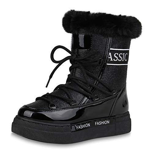 SCARPE VITA Dames Laarzen Winter Laarzen Warm Gevoerde Plateau Laarzen Metalen Schoenen Outdoor Winterschoenen Snow Booties