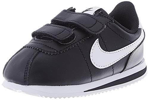 Nike Cortez Basic SL (TDV), Scarpe da Ginnastica Unisex-Bambini, Black/White, 23.5 EU