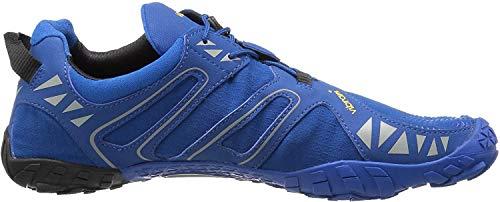 Vibram Men's V Trail Runner, Blue/Black, 12-12.5 M US / 47 EU