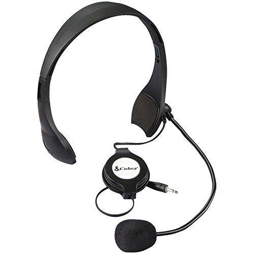 Cobra CA MS4 Remote Push-to-Talk Microphone System (Certified Refurbished)