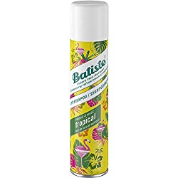 Batiste Dry Shampoo, Tropical, 6.73 Ounce (Packaging May Vary)