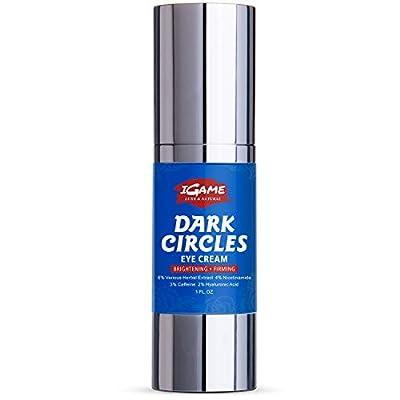 Dark Circle Eye Cream, Eye Cream Anti aging, Hydrating, Repairing, under eye cream formulated with Hyaluronic Acid, Nicotinamide, Polypeptides, Caffeine