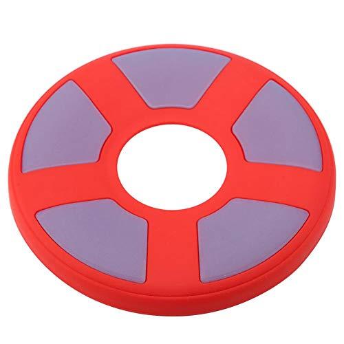 Perro Disco Volador Perro de Silicona Disco de Entrenamiento en Frisbee...