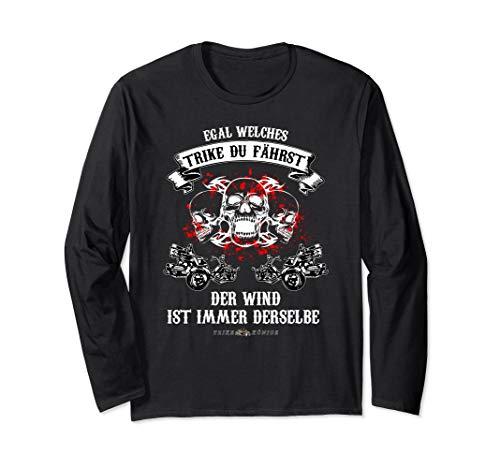 Egal welches Trike du fährst, lustiges Trike Motiv Langarmshirt