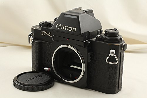 New CANON New F-1 35mm SLR Film Camera Body