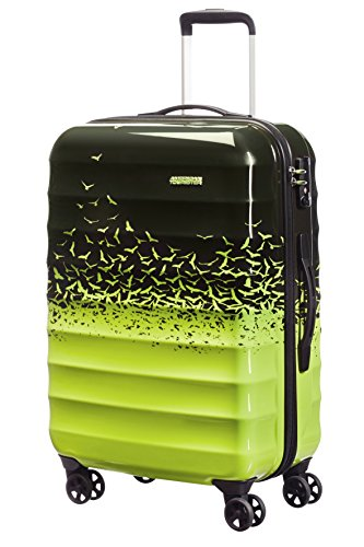 American Tourister Palm Valley Spinner 67/24, Valigia, Litri 60.8, Fly Away Green