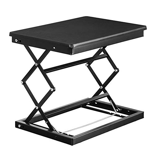 Gannon Front Stand-up Computer Lifting Table Laptop Bed Tray Desk Worktable Foldable Foldable Lifting Bracket Aluminum Ergonomic Design Portable Overbed Or Laptop Table For Eating, Working Gaming
