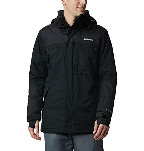 Columbia Park Run Jacket, Giacche (Shells) Uomo, Black, M