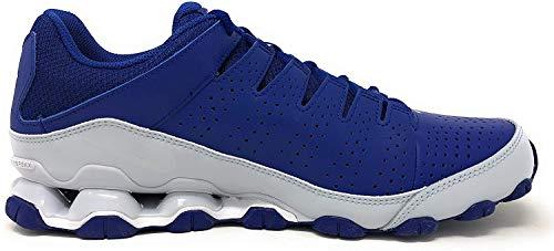 Nike Herren Reax 8 TR Fitnessschuhe, Mehrfarbig (Deep Royal Blue/White/Pure Platinum 404), 44 EU