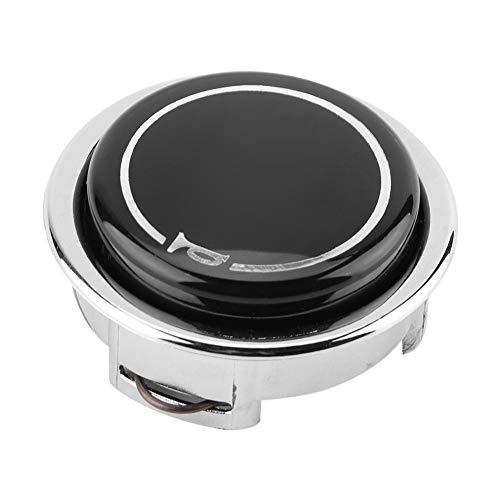 Botón de automóvil Botón de bocina de automóvil Botón de bocina de volante de automóvil modificado universal Presione el interruptor de palanca de metal