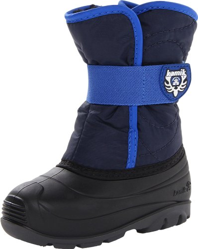 Kamik Footwear Snowbug3 Insulated Boot (Toddler),Navy,6 M US Toddler