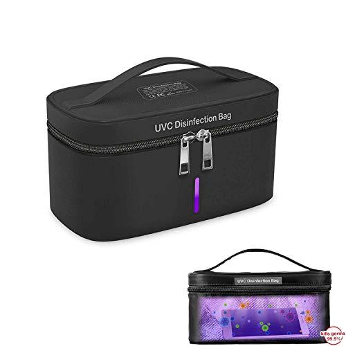 DQiDianZ - Disinfettante a base di ozono, disinfettante USB UV, custodia portatile, sterilizzazione rapida 99,9%