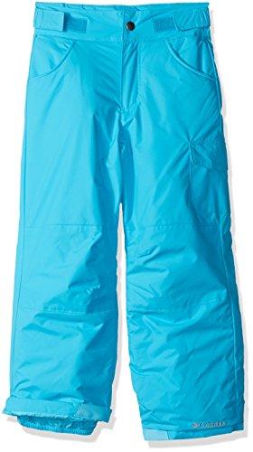 Columbia Wasserabweisende Skihose für Mädchen, Starchaser Peak II Pant, Nylon, Blau (Atoll), Gr. XL, 1523691