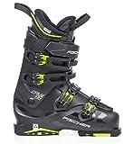 Fischer Unisex– Erwachsene Skischuhe Cruzar Sport MP27,5 EU42 2/3 Vacuum Flex 100 Skistiefel 2019, schwarz/gelb, 27.5