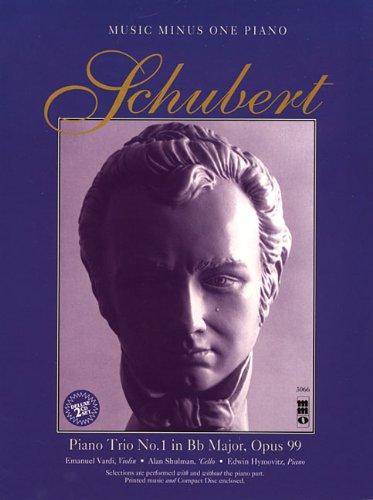Schubert Piano Trio in B-flat Major, Op. 99, D898 (Music Minus One (Numbered))
