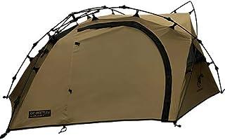 [クイックキャンプ] ダブルウォール ツーリングテント 1人用 タンカラー QC-BEETLE1