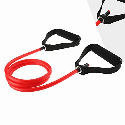 120cm Yoga trekkoord Elastische Banden van de Weerstand Fitness Crossfit Training Exercise Tube Practical Training Rubber treksterkte Expander,A