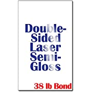 """Legal Size (8 1/2"""" x 14"""") Laser Gloss Paper (38lb Bond) - 250 Sheets - for Laser Printers Only"""