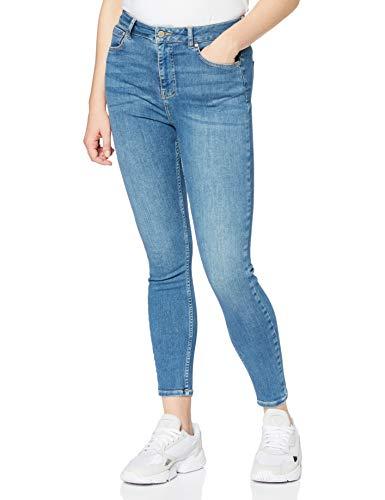 Superdry Damen HIGH Rise Skinny Jeans, Blau (Mid Indigo Used O1O), 28W / 30L