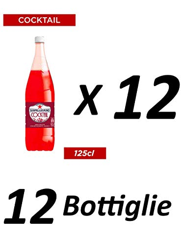 12x San pellegrino PET Flasche 1,25 L Cocktail ginger bitter alkoholfrei Ingwer