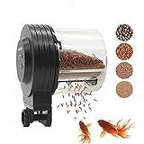 boxtec Automatischer Fischfutterautomat Fish/Turtle Feeder für Aquarium & Fish Tank Fischfutterspender (280 ML)