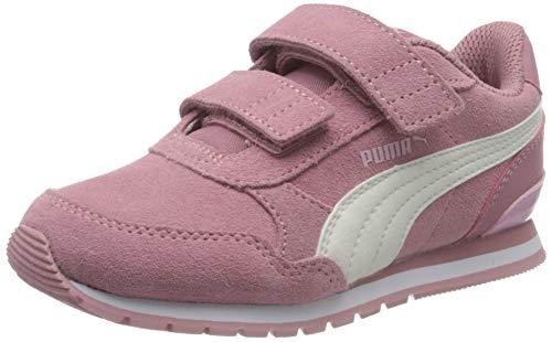 Puma Unisex-Kinder St Runner V2 Sd V Ps Sneaker, Foxglove-Whisper White-Pale Pink-Puma White, 35 EU