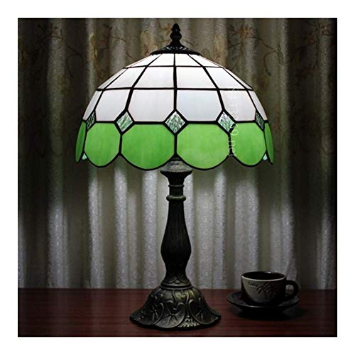 WLP-WF Lámpara de Mesa Hecha a Mano, Lámpara de Vidrio Teñido de 8 Pulgadas para Decoración Del Hogar, Lámpara Colgante, Multicolor para el Cuidado de Los Ojos