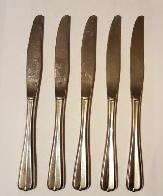 Oneida Gala Impulse Lot of 5 Dinner Knives