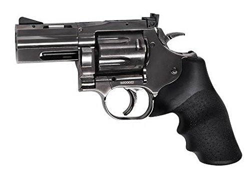 """Airsoft Dan Wesson 715 - 2.5\""""silver full métal Co2 Calibre 6mm. 1.1 Julios de potencia - ASG 16181 …"""