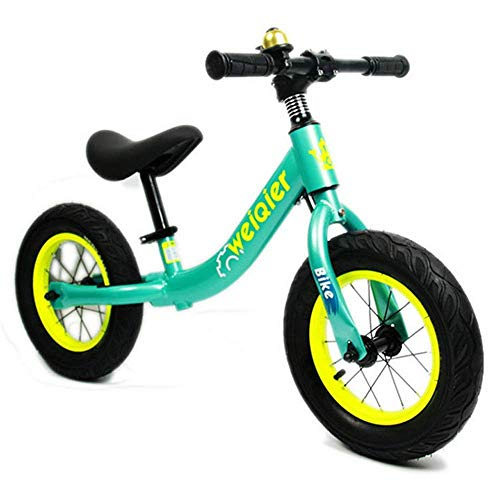 HZR Children Balance Bikes Balance Bike For Kids And Toddlers No Pedal Air Tires Anti-slip Handlebar Push Sport Training Walking Bicycle12' 14' For Boys And Girls Ages 18 Months To 8 Years Old Trainin