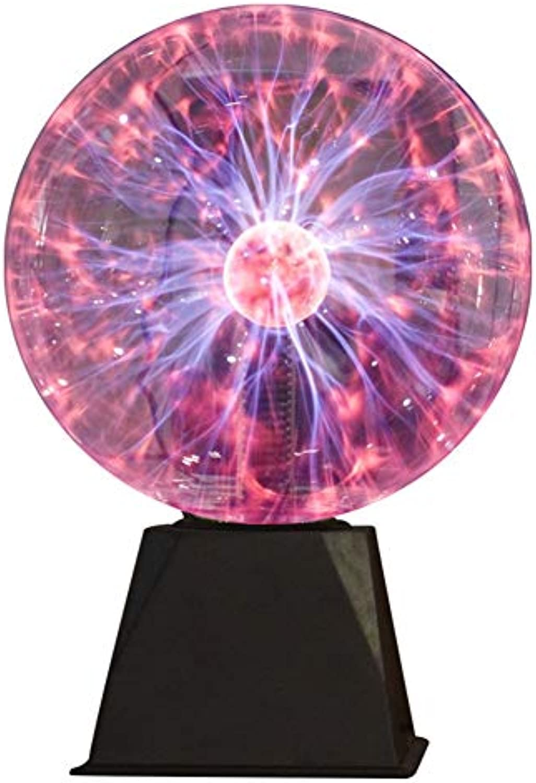 LIURUO Neue Klangversion Magie Plasma Ball Licht magisches Licht Nachtlicht Karneval Atmosphre Lichter dekorative Tischlampe Nachttischlampe