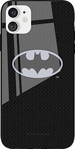 DC Batman Coque en TPU pour iPhone 11 Silicone Liquide Souple et Mince Protection Ecran Anti-Chocs et Anti-Rayures