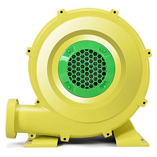 COSTWAY Ventilatore di Aria del Castello Gonfiabile, Ventilatore Centrifugo Gonfiabile, Soffiatore per Giochi Gonfiabili (450W)